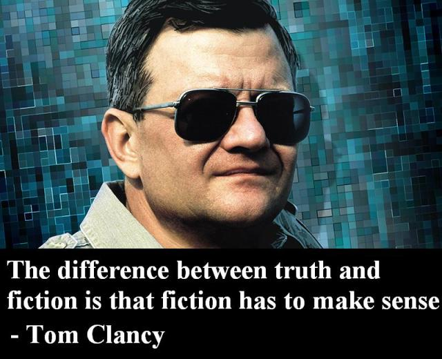 Tom Clancy's Writing Advice